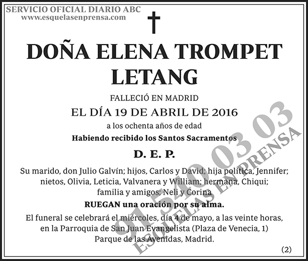 Elena Trompet Letang